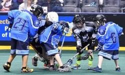 halftime lacrosse scrimmage